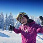 women ski backcountry guide