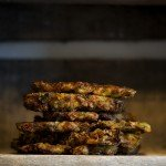 Zucchini Fritters (Mucver)